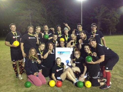Waka LA New Orleans Dodgeball Champions  Throws before hoes