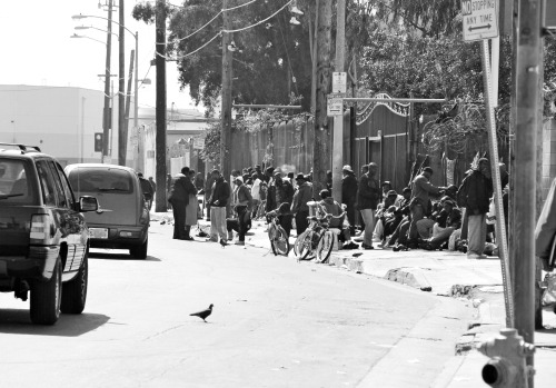 Skid Row Los Angles, CA.