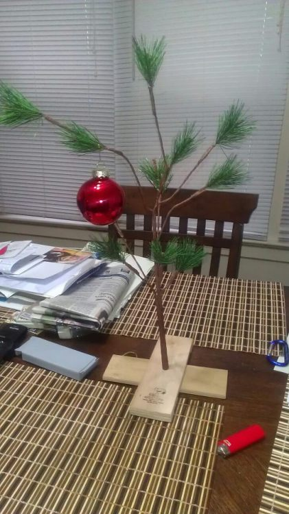 Good Grief my Christmas Tree this year. Merry Christmas/Happy Holidays Everyone!