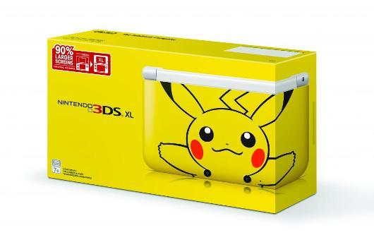Pikachu 3DS XL Coming To North America March 24 Damn, Nintendo! Give a dude more than a few day's notice so he can save up some extra scratch! This Pikachu edition 3DS XL drops this coming Sunday for $199.99. It comes with a 4GB SD card and has Pikachu's cute-ass face on it! Nintendo is also running a promotion where anyone who buys a 3DS XL and a copy of either Pokémon Mystery Dungeon: Gates to Infinity or Luigi's Mansion: Dark Moon and registers them on Club Nintendo before April 30, you'll get a free download code for one of the following titles: Super Mario 3D Land, Professor Layton and the Miracle Mask, Star Fox 64 3D, Freakyforms Deluxe: Your Creations, Alive, or Art Academy: Lessons for Everyone
