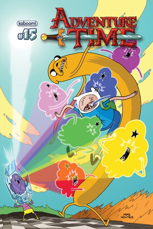Hey, my cover for Adventure Time #15 is up at Bleeding Cool! Go there to see the other two covers - they're awesome.