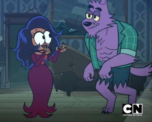bernard ok ko ok ko let& 039;s be heroes ok ko lakewood plaza turbo ok ko enid enid werewolf wolf furry furry fandom furries kemono kemonohito Cartoon network cartoonnetwork halloween
