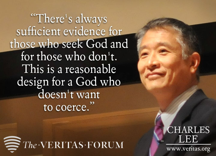 Charles Lee discussed faith and success last Saturday at The Veritas Forum at Cornell!