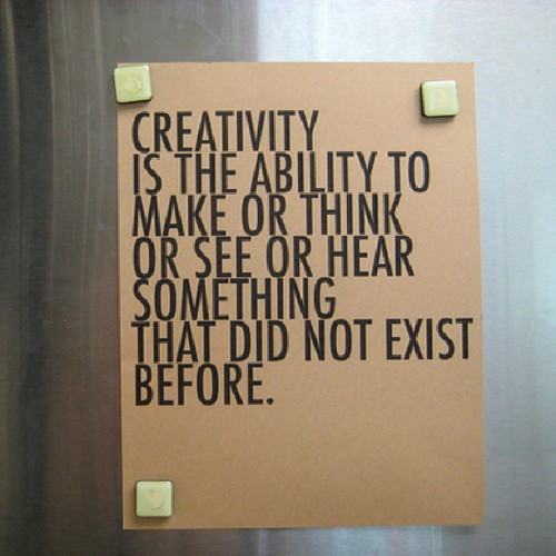 Lets be #creative