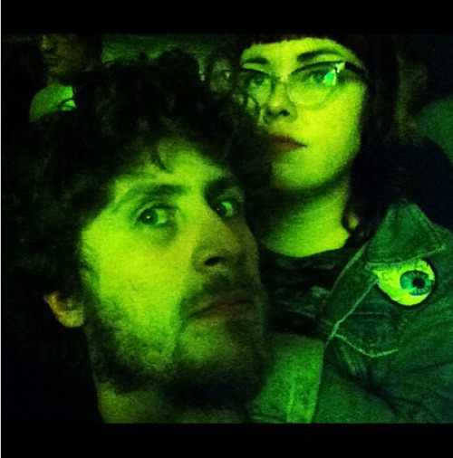 Throwback Thursday! 50 weeks ago J and i went to see Mr. Oizo at The Roxy. It was Leap Day and I ate a tuna sandwich before the show. It totally gave me diarrhea and I had to keep running to the bathroom with  the shits the entire  time.  Turns out Leap Day is just like any other day I eat tuna…
