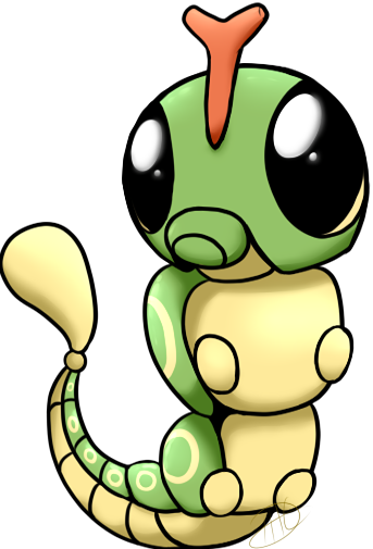 #10 Caterpie  not much to say >w>