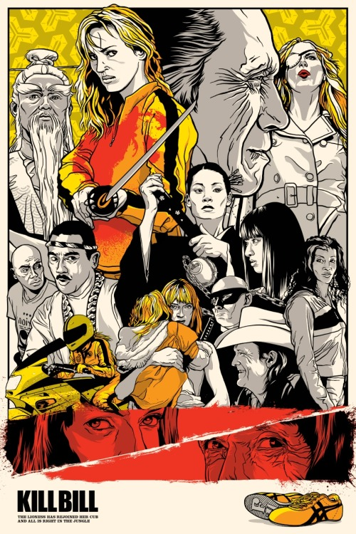 thepostermovement:  Kill Bill by Joshua Budich