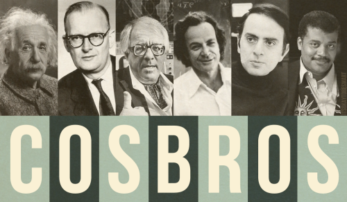 """Cosbros"" by Joe Hanson, inspired by this 1971 conversation between Sagan, Bradbury, and Clarke."