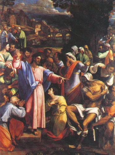 The Raising of Lazarus, by Sebastian del Piombo