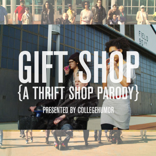 Our Macklemore Gift Shop song was just released in the iTunes store to download. Now you'll have something to listen to at museums before you eventually get to the gift shop.  You can download it here and if you haven't seen the music video then get your life together.