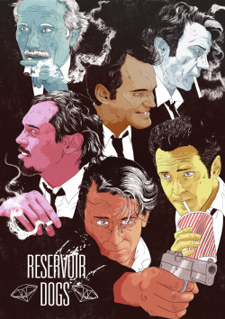 comichaels:  Reservoir Dogs by James Fenwick for Cult Cinema Sunday