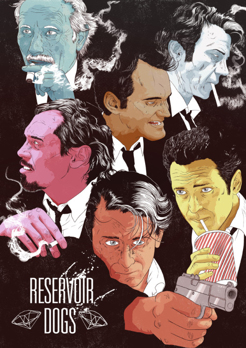 fuckyeahmovieposters:  Reservoir Dogs by James Fenwick for Cult Cinema Sunday