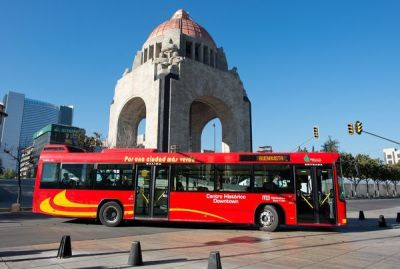 Bikes and Buses Propel Mexico City to Prize in Sustainable Transport | National Geographic  Bicycles, pedestrian-friendly plazas and walkways, new bus lines, and parking meters are combining to transform parts of Mexico City from a traffic nightmare to a commuter's paradise. The Mexican capital, one of the world's most populated urban areas, has captured this year's Sustainable Transport Award, the Institute for Transportation and Development Policy (ITDP)
