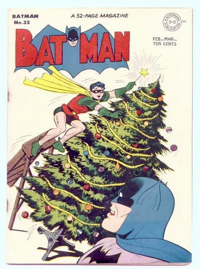 Have yourself a merry Batman Christmas.
