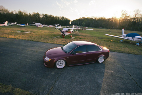 stancespice:  Marc's Slammed a4 by WhitbeckPhoto.com on Flickr.