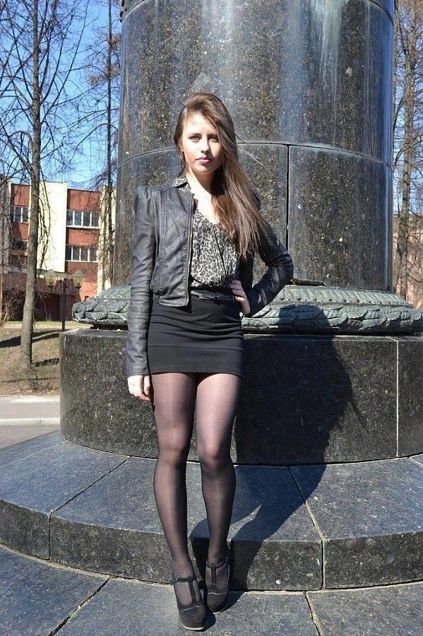 Девушки в черных колготках фото вконтакте 83438 фотография