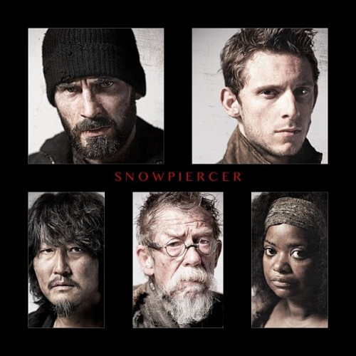 mazzuno:  I'M SO EXCITED, AND I JUST CAN'T HIDE IT! #snowpiercer #chrisevans #jamiebell #johnhurt #octaviaspencer #kang-hosong