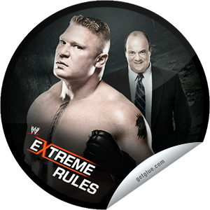 I just unlocked the WWE Extreme Rules: Brock Lesnar and Paul Heyman sticker on GetGlue                      3517 others have also unlocked the WWE Extreme Rules: Brock Lesnar and Paul Heyman sticker on GetGlue.com                  Congratulations! You've unlocked our WWE Extreme Rules Series sticker, featuring Brock Lesnar and Paul Heyman.  Don't miss WWE Extreme Rules LIVE May 19 at 8/7 CT, exclusively on PPV. Share this one proudly. It's from our friends at WWE.