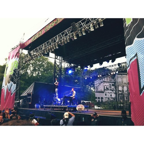 @mattandkim at @googamooga #googamooga  (at Great GoogaMooga)