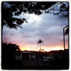 #sunsets from work. #luckyilivehawaii #808allday #blessed #perksofbeinganislandgirl #pcc