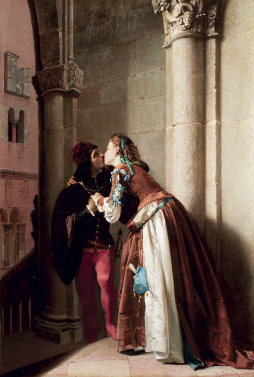 monsieurleprince:  A. Aureli, XIX century, Marguerite and Faust, 1865