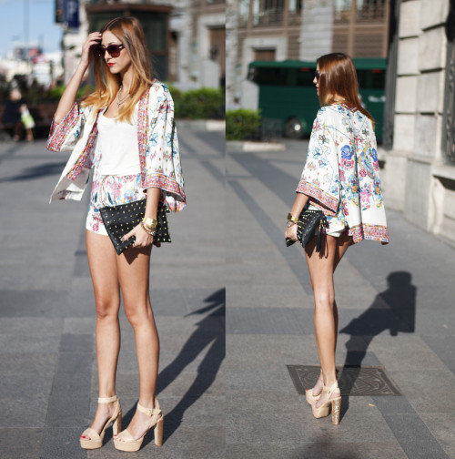 lookbookdotnu:  FLOWERED SUIT (by Andrea Gomez)