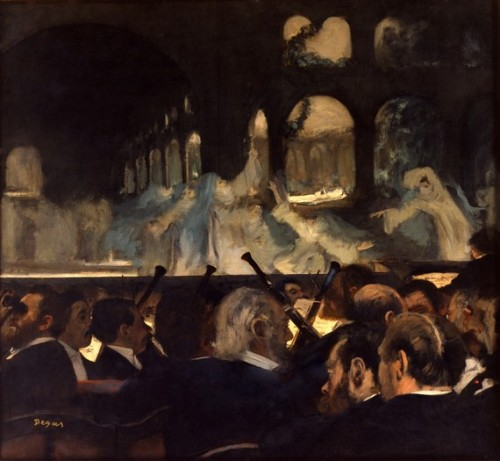 Edgar Degas, The Ballet Scene, c.1876