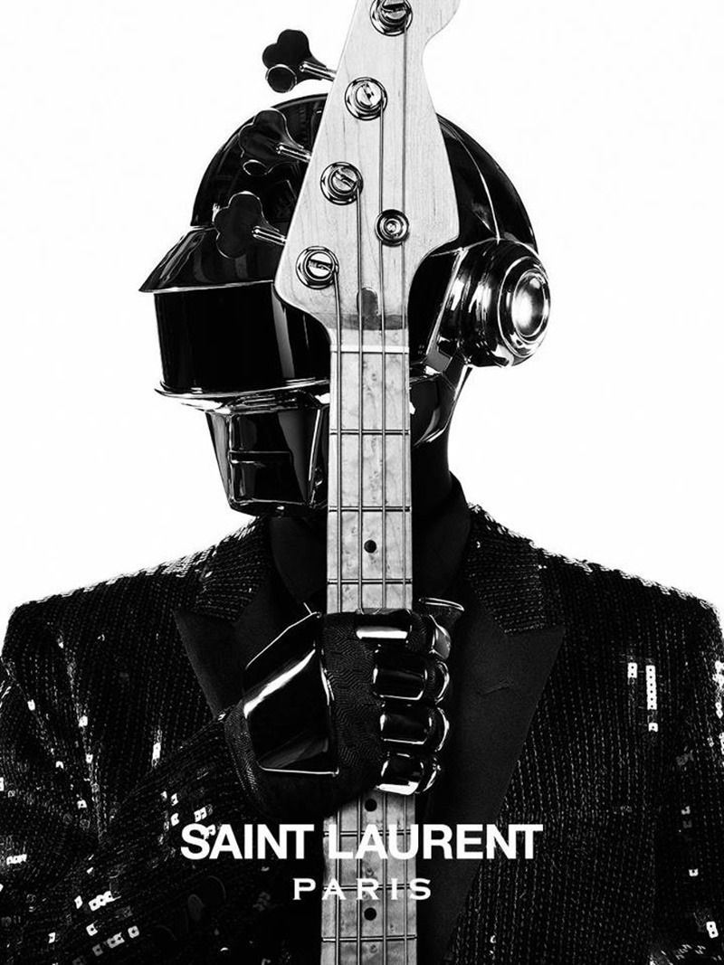 Daft Punk for Saint Laurent.