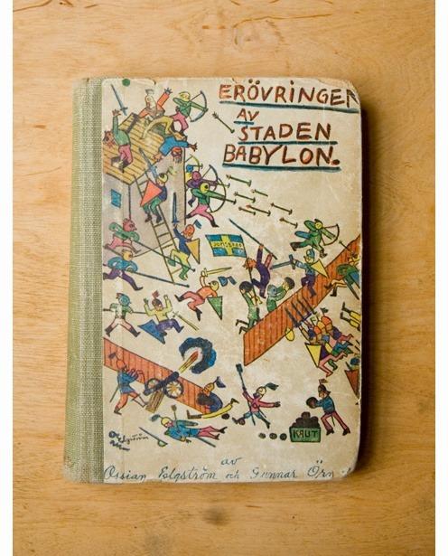 Vintage book cover (via)