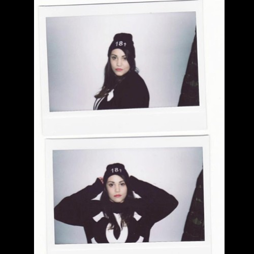 Beti By Sascha SMUT #instax #photography #smutclothing #beanie #model #polaroid #palace #streetwear