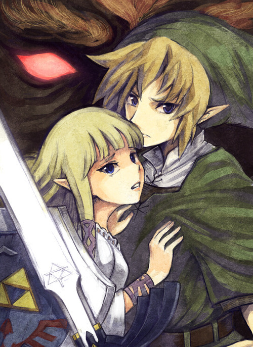 linkslittlehelper:  I will protect her. Even if the shadows consume me.