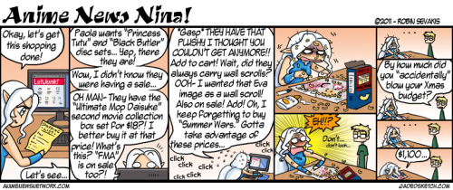 Anime News Nina - #154 Holiday shopping problems.