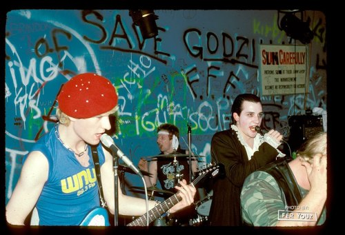 The Damned, 1982 via Fer Youz