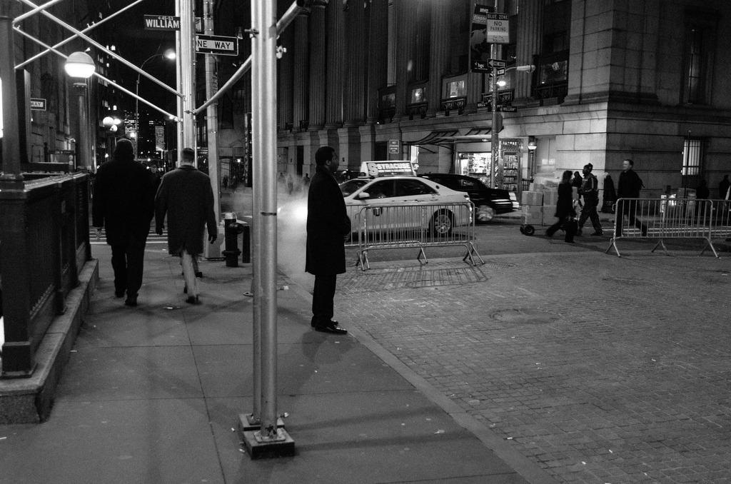 Waiting  Financial District, Manhattan