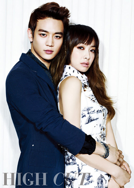 F(x): Victoria & SHINEE - High Cut Photos (2)