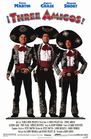 "I am watching Three Amigos                   ""Another classic, love this Film …the original Tropic Thunder movies reality premise…favourite bit is Chevy Chase wasting the water and the Singing Bush :)""                                Check-in to               Three Amigos on GetGlue.com"