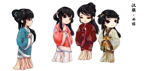 china hanfu clothes traditional chinese clothes