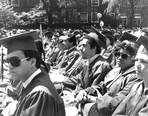 Brooklyn College Commencement, from 1984.