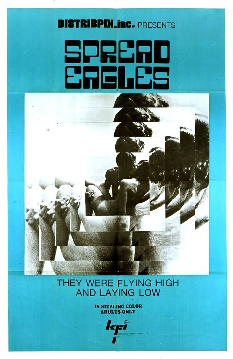 Spread Eagles, 1968 via Mondo Exploito