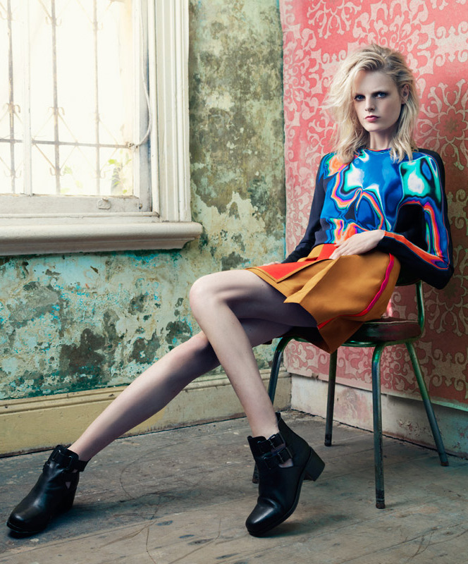 stormtrooperfashion:  Hanne Gaby Odiele by Georges Antoni for the JASU Fall 2013 Campaign