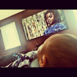 Little Rascals with babyboy #GracenJorel #godson #littlerascals #hefellasleep