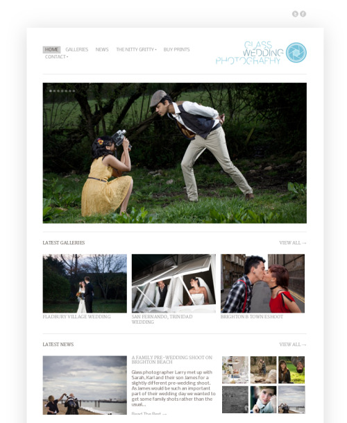 New website completed for wedding photography side business. Check it out and let your engaged friends know…