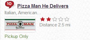 God bless you, Grubhub.