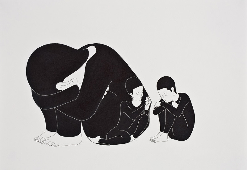 sunnyasini:  likeafieldmouse:  Daehyun Kim 1. I Always Go Back to Me (2010) 2. Please Take Care of This (2009) 3. Be With and Without Me (2009) 4. Face the Whole (2011) 5. Blow your Mind (2010) 6. Bright Darkness (2010) 7. You are Now (2013) 8. Faces that I Have to Face Before I Sleep (2010) 9. The Inner Inside (2009) 10. Weight of You (2009)  I think this is one of my favorite artist of all time. Each of its pieces just speaks to me.