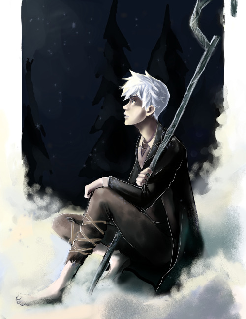 incaseyouart:  Jack sittin' in some snow, staring off into space. Being angsty.  This is definitely my favourite of his outfits, seen in an official comic.  Paint tool SAI