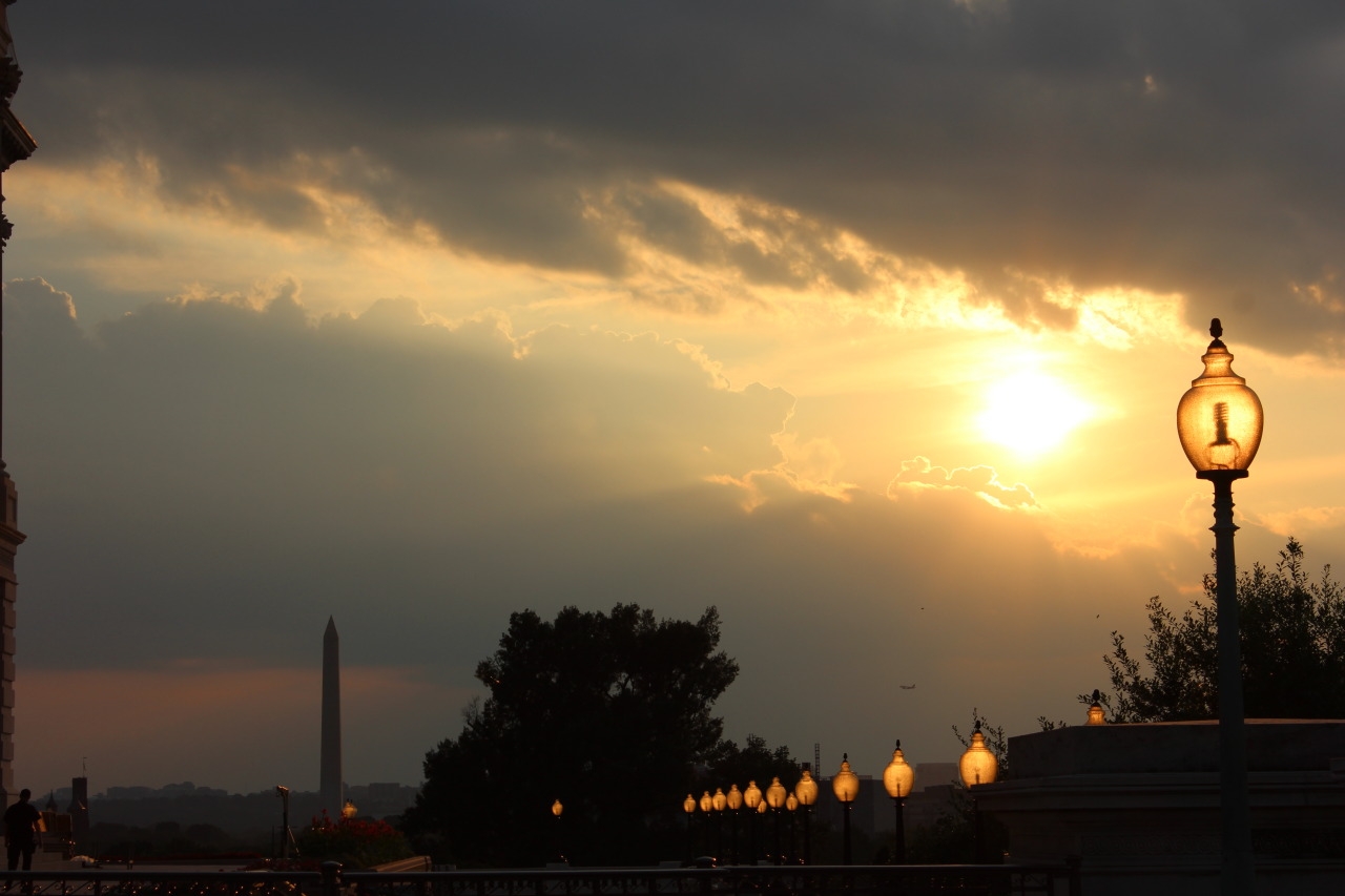 Washington D.C. at sunset