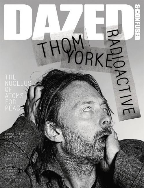 Dazed & Confused (UK) Thom Yorkestars this new ace Dazed & Confused magazine