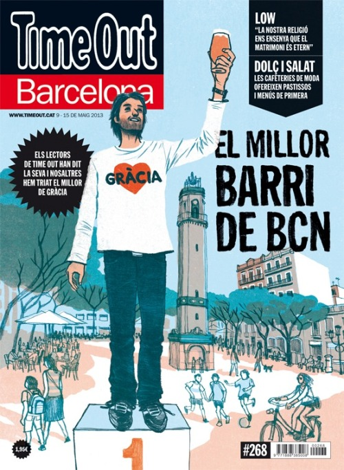 El millor barri de Barcelona, segons els lectors de Time Out, és Gràcia.  According to Time Out Barcelona readers, the best neighborhood in Barcelona is Gràcia. And Gràcia is without a doubt my favorite hood in Barna. Congrats!!!    http://blogs.timeout.cat/barcelona/2013/05/07/and-the-winner-is-gracia/