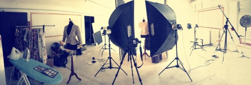 Studio-Day. Hollowman-Shooting.