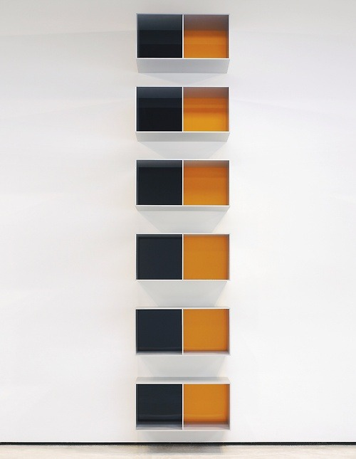 thingsorganizedneatly:  Donald Judd  I love the Judd